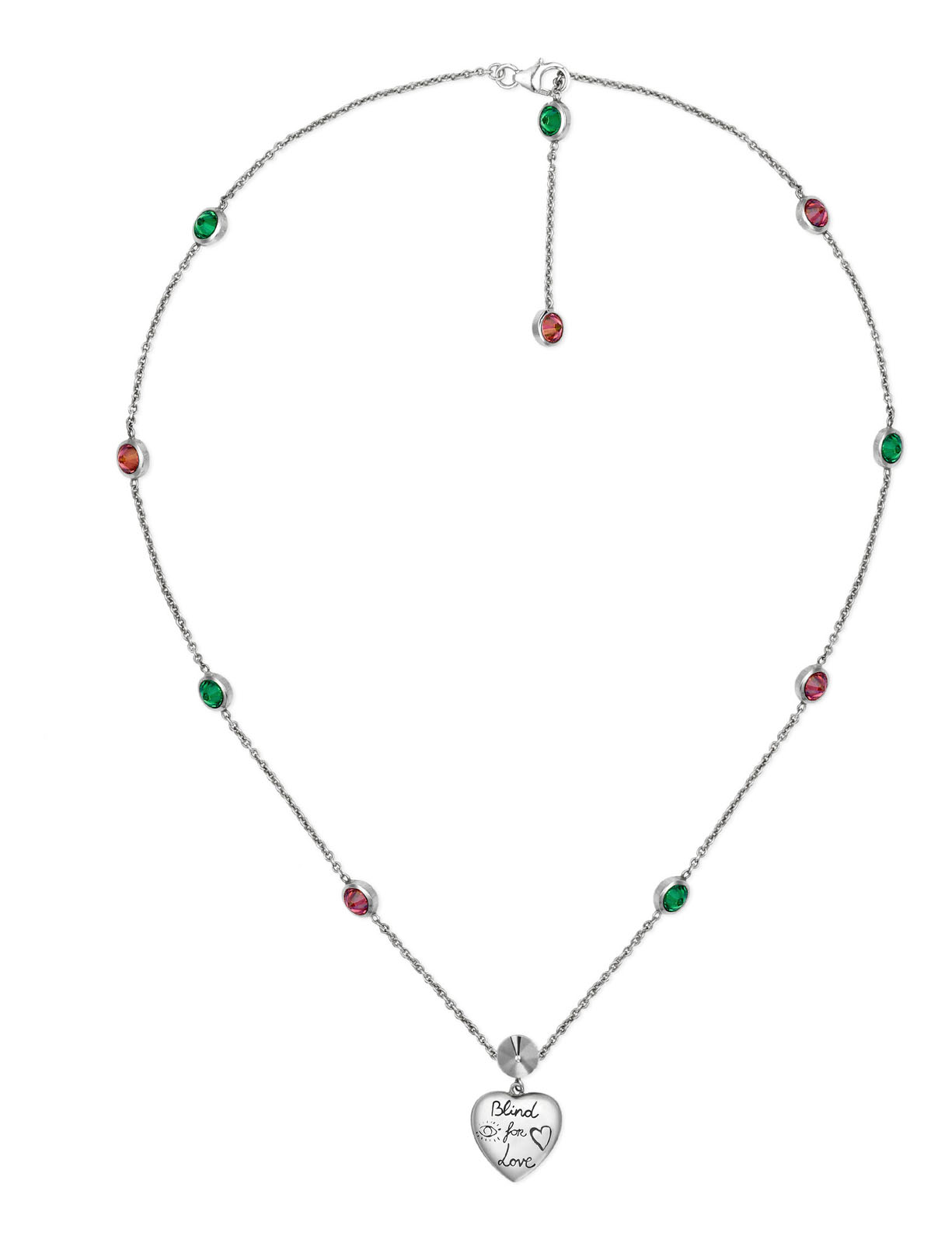 38f131dd0 Blind for Love necklace in silver - Lindroos
